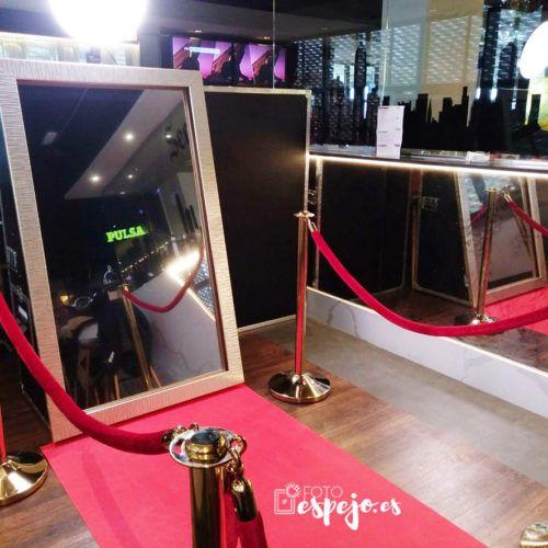Magic Mirror Photomaton para fiestas y eventos Fotoespejo