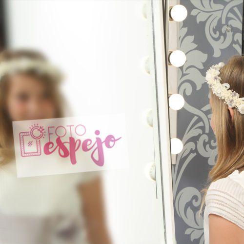 Fotomatón de Espejo para comuniones Fotoespejo.