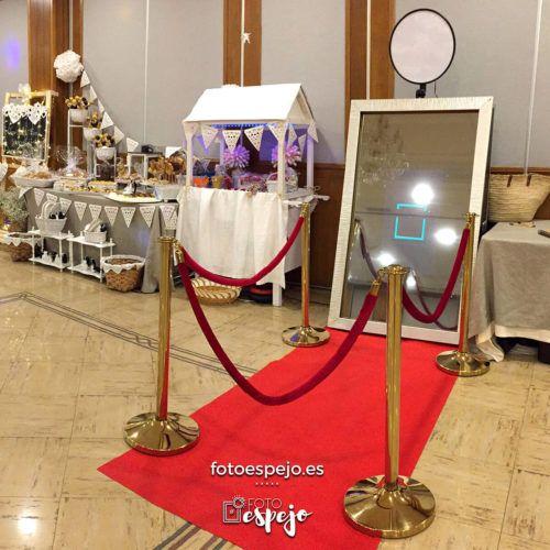 Fotomaton de Espejo para comuniones Fotoespejo